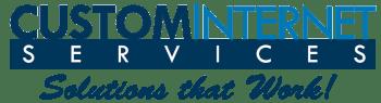 Logo for Custom Internet Services LLC