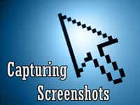 Capturing Screen Shots