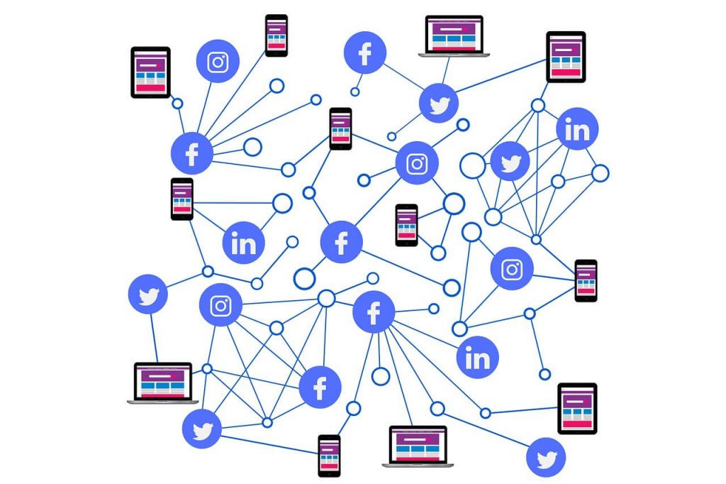 Social Media connected