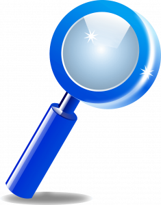 Magnifying Glass for looking closely