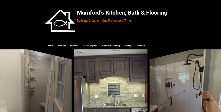 Homepage for Mumford's Designs