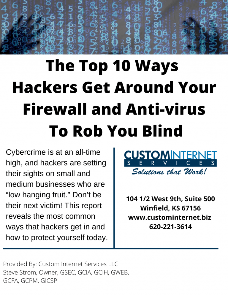 Cyber Security Booklet Cover